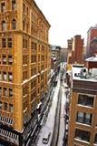 Boston Winter. Stock image of a snowing winter at Boston, Massachusetts, USA Royalty Free Stock Image