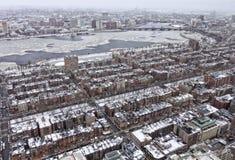 Boston in the Winter Stock Image