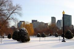 Boston Winter Stock Photography