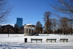 Boston Winter Stock Photos