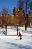 Boston zima Zdjęcia Stock