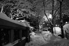 Boston zima Zdjęcie Stock