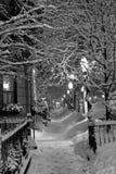 boston zimy. Zdjęcie Royalty Free