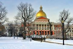 boston zimy. zdjęcia stock