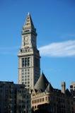 Boston-Zollamt-Borduhr Lizenzfreie Stockbilder
