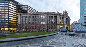 Bostonsüdstation lizenzfreies stockbild