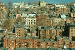 Bostons rückseitiger Schacht Stockfotografie