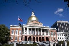 bostonu budynku kapitałowy Massachusetts stan Obrazy Stock