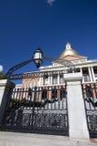 bostonu budynku kapitałowy Massachusetts stan Obraz Royalty Free