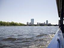 bostonu Charles kaczki rzeka Fotografia Stock