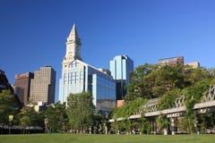 bostonu Columbus park obrazy royalty free