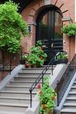 bostonu drzwi Obrazy Stock