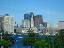 bostonu miasto Zdjęcia Stock