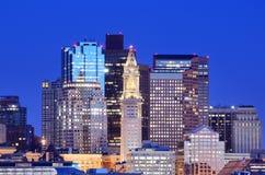 bostonu schronienia linia horyzontu Zdjęcia Royalty Free