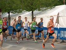 Bostr?m de martre - marathon de Copenhague Images libres de droits