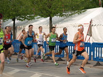 Bostr?m do Marten - maratona de Copenhaga Imagens de Stock Royalty Free