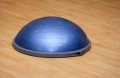 Bosu ball (modern gym ball). Ball (modern gym ball) in fitness center Stock Photos