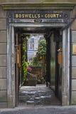 Boswells Court in Edinburgh Royalty Free Stock Photo