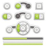Botão Imagens de Stock