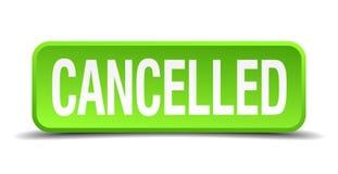 botão cancelado ilustração royalty free
