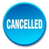 botão cancelado ilustração do vetor