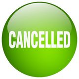 botão cancelado ilustração stock