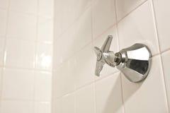 Botão da água quente Fotografia de Stock Royalty Free