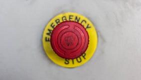 Botão da emergência Imagens de Stock Royalty Free