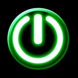 Botão da potência Imagens de Stock