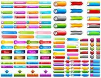 Botão da Web fotografia de stock