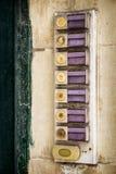 Botão de Bell fotos de stock royalty free