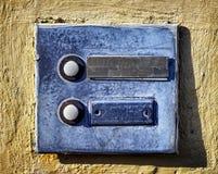 Botão de Bell foto de stock