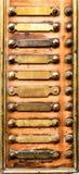Botão de Bell imagem de stock royalty free