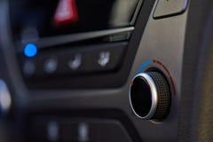 Botão de controle do clima do carro foto de stock royalty free