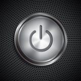 Botão de ligar/desligar Foto de Stock