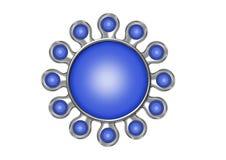 Botão de Multiapplication Imagens de Stock
