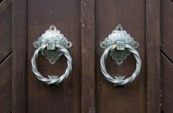 Botão de porta fotografia de stock royalty free