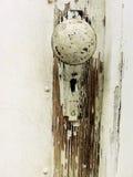 Botão de porta antigo Imagem de Stock Royalty Free