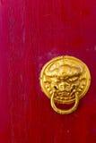 Botão de porta asiático foto de stock royalty free
