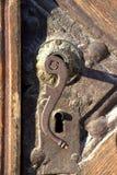 Botão de porta do vintage Imagens de Stock