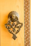 Botão de porta feito a mão velho do otomano foto de stock royalty free