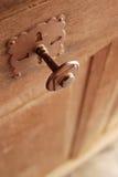 Botão de porta gótico do estilo Imagens de Stock Royalty Free