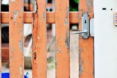 Botão de porta na luz suave Foto de Stock Royalty Free