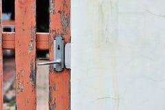 Botão de porta na luz suave Fotos de Stock Royalty Free