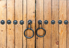 Botão de porta no estilo coreano imagens de stock royalty free