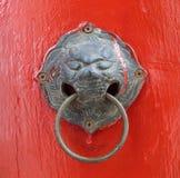 Botão de porta oriental fotos de stock royalty free