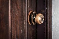 Botão de porta quebrado imagens de stock royalty free