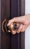 Botão de porta quebrado fotografia de stock royalty free