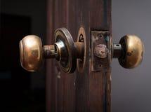 Botão de porta quebrado fotos de stock royalty free