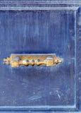 Botão de porta - vintage imagem de stock